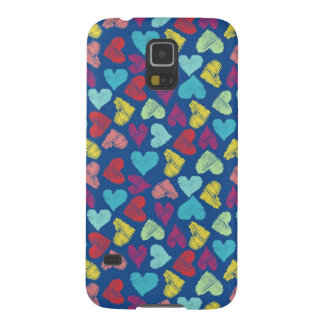Scribble Heart Capas Par Galaxy S5
