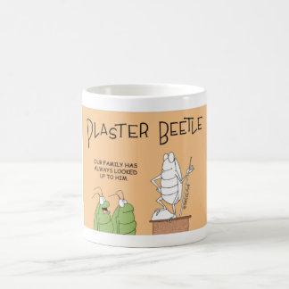 Sculpter do besouro caneca de café