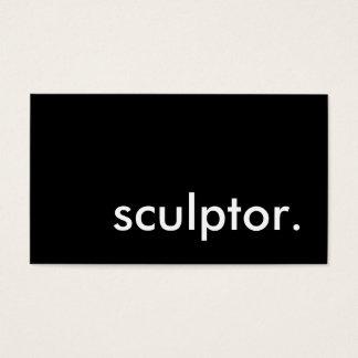 sculptor. cartão de visitas