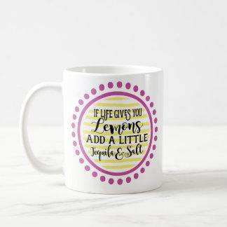 Se a vida lhe dá a caneca de café dos limões