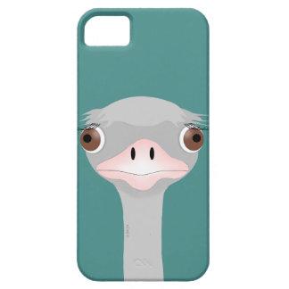 SE do iPhone da avestruz + iPhone 5/5S, mal lá Capa Barely There Para iPhone 5
