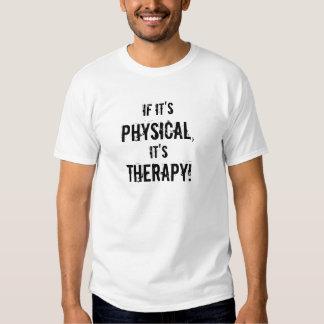 Se é, exame, é, terapia! camisetas