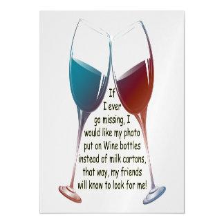 Se eu vou nunca faltar o vinho do divertimento que