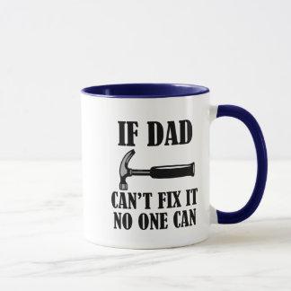 Se o pai não pode o fixar ninguém pode caneca de