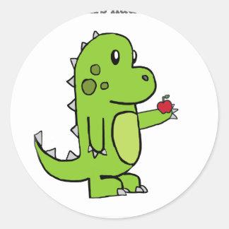 Se os dinossauros tiveram professores adesivo