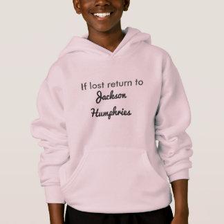 Se retorno perdido ao hoodie de HUMPHRIES de