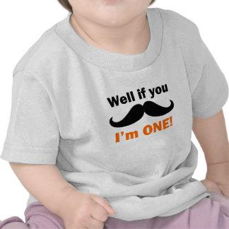 Se você bigode mim é um t-shirts