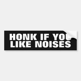 Se você gosta de ruídos adesivo para carro