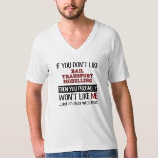 Se você não gosta da modelagem do transporte de camiseta