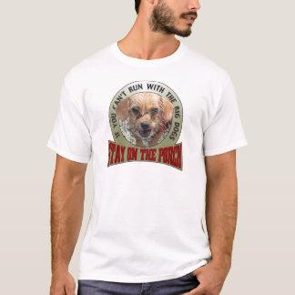 Se você não pode funcionar com os cães grandes camiseta