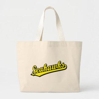 Seahawks no amarelo bolsas de lona
