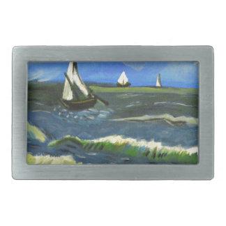 Seascape em Saintes-Maries, Van Gogh