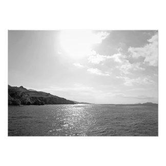 Seascape no sol foto