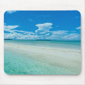 Seascape tropical azul, Palau Mouse Pad