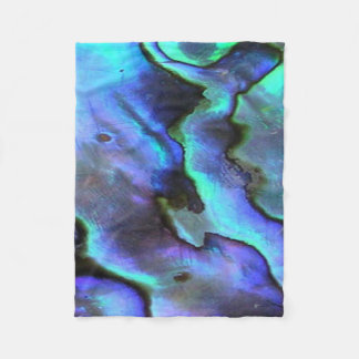 Seashell colorido do olmo, natureza bonita cobertor de velo