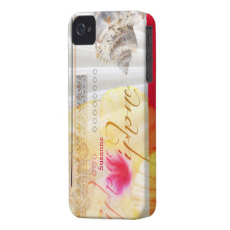 Seashell Flower Case iPhone Capinhas iPhone 4