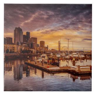 Seattle Marinescape Azulejos