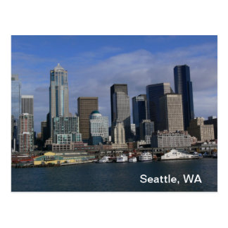 Seattle WA, cartão