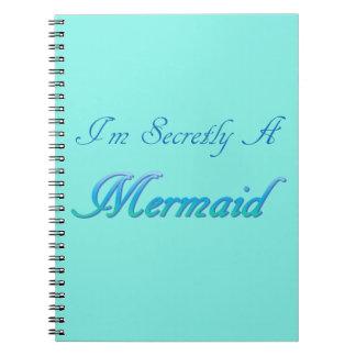 Secreta um caderno da sereia