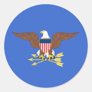Secretário de Defesa dos Estados Unidos Adesivo Redondo