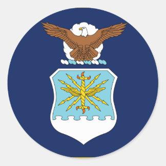 Secretário dos Estados Unidos da força aérea Adesivos Em Formato Redondos