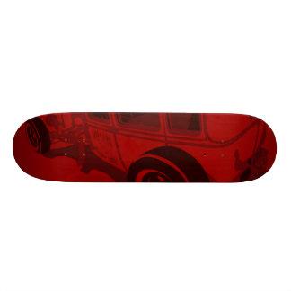 Sedan 1929 de Murray Towne no vermelho Shape De Skate 19,7cm