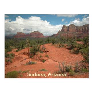 Sedona, arizona - cartão