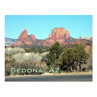 Sedona-View#4, Sedona, cartão de AZ