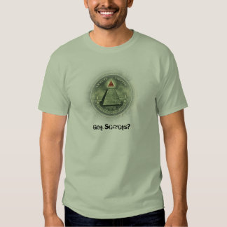 Segredos obtidos? t-shirts