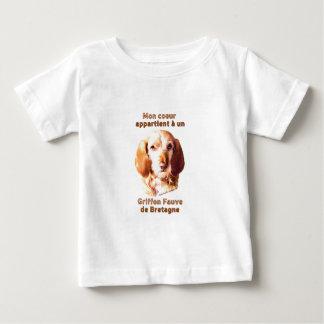 Segunda-feira Coeur Appartient um deBretagne do Un Camiseta Para Bebê