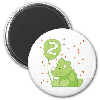 Segundo aniversário do bebê de Dino Ima