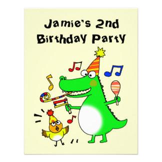 Segundo aniversário feliz eu sou 2 convite