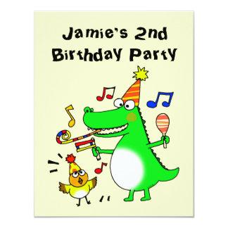 Segundo aniversário feliz (eu sou 2) convite 10.79 x 13.97cm