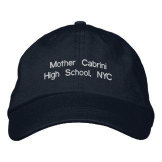 Segundo grau de Cabrini da mãe, boné de beisebol