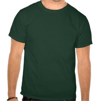 Segundo grau de Gordo Onda verde Camisetas