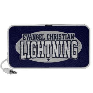 Segundo grau do cristão do Evangel Relâmpago Caixinha De Som Para iPod