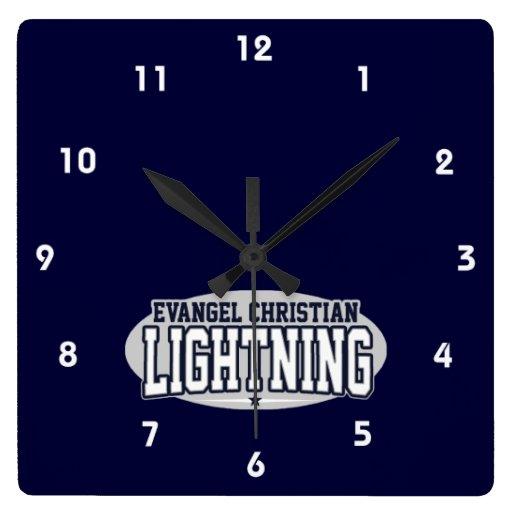Segundo grau do cristão do Evangel; Relâmpago Relógio Para Parede