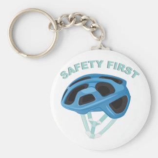 Segurança em primeiro lugar chaveiro