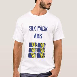 Seis Abs do bloco Camiseta