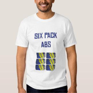 Seis Abs do bloco Tshirt