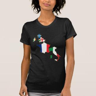 Seis séries do campeonato das nações 11as t-shirt