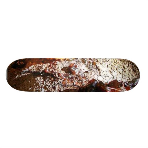 Seiva do âmbar das árvores shape de skate 21,6cm