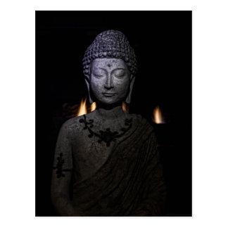 Seja a luz no mundo, Buddha Cartão Postal