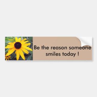 """""""Seja a razão que alguém sorri hoje"""" Sticke Adesivo Para Carro"""