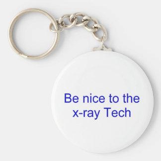 Seja agradável à tecnologia do raio X Chaveiro