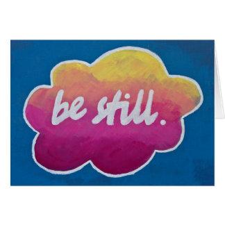 """""""Seja ainda"""" cartão inspirado"""