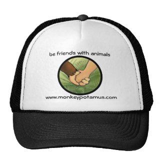 Seja amigos com animais boné