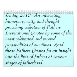 """""""Seja calendário de um pai"""""""