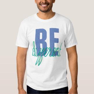 Seja camisa diferente do divertimento t-shirt