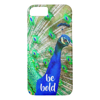 Seja capas de iphone inspiradas corajosas do pavão